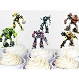 Transformers Assorted Cupcake Picks Set of 12