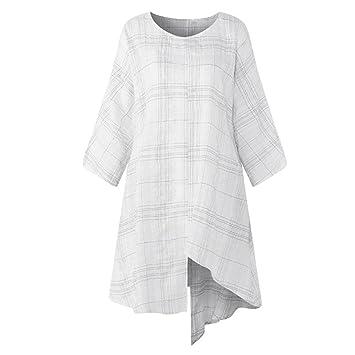 Mujer blusa tops otoño suave y suelto urbano streetwear,Sonnena Blusa camisa manga tres cuartos