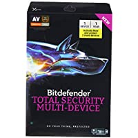 Bitdefender Total Security 2017 Multi-Devices 1 Year (5 Devices)