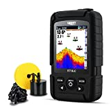 LUCKY Fish Finder Waterproof for Ice and Kayak fishing with Dual Sonar Frequency