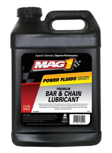 Mag 1 60629 All Seasons Chain and Bar Oil - 2.5 Gallon, (Pack of 2)