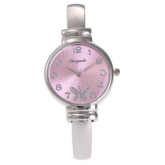 HWCOO Reloj para Mujer Casual Trend Relojes de Cuarzo Relojes para Mujer Casual Fashion Fashion Jewelry (Color : 1): Amazon.es: Relojes