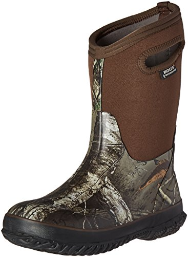 Bogs Kids Classic High Waterproof Insulated Rubber Neoprene Rain Boot, Camo Real Tree Print/Green/Multi, 11 M US Little Kid by Bogs (Image #1)
