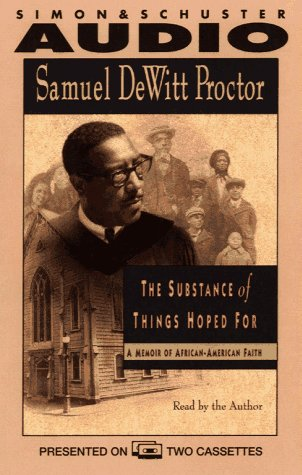 Search : Substance of Things Hoped for a Memoir of African-American Faith