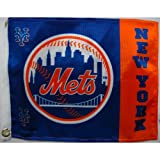 MLB New York Mets Boat and Golf Cart Flag