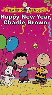 Peanuts: Happy New Year Charlie Brown (Slip Case Packaging) [VHS]