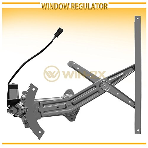 Front Right Passenger Side Power Window Lift Regulator with Motor Assembly Replacement for 1994 1995 1996 1997 1998 1999 2000 2001 2002 2003 Ford Mustang