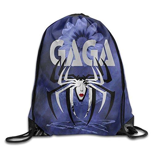 [MYKKI Lady Singer Gaga Fashion Drawstring Bags] (Gaga Dance Costumes)