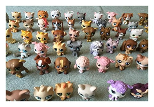 Collect Littlest Pet Shop random Lot of 2 pets LPS Dogs Cats Lot by Unbranded