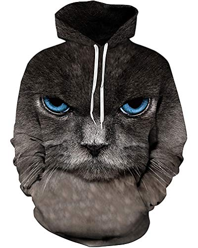Unisex 3D Novelty Hoodies Easter Galaxy Hoodies Sweatshirt Pockets -