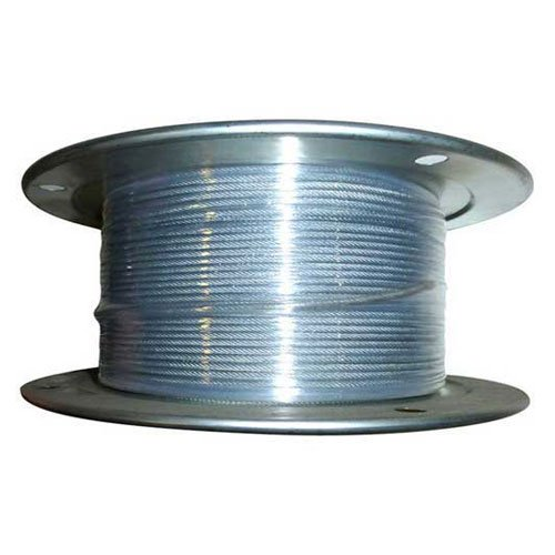 Advantage 500' 5/16'' Dia. VC 3/8'' Dia. 7x19 Vinyl Coated Galvanized Aircraft Cable by Advantage