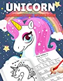Letter Tracing Books for Kids Ages 3-5: Unicorn Handwriting Practice, Letter Tracing Book for Preschoolers, Handwriting Workbook for Pre K, ... Tracing Books for Toddlers (Alphabet Tracing)