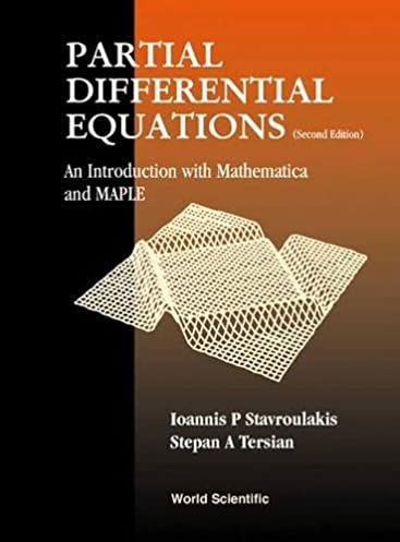 partial differential equations an introduction with mathematica and rh amazon com Differential Equations Easy Differential Equations Graph