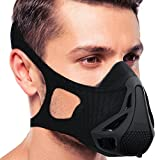 Training Mask Sport Workout Training Mask for Strength&Agility Workout Mask,High Altitude Elevation Simulation for Running,Cycling,Cardio,Fitness,Endurance Training, Hypoxic Resistance Mask