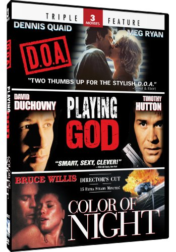 (Color of Night & Playing God + D.O.A. - Triple Feature)