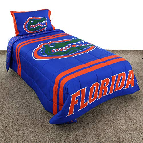 - College Covers Florida Gators Comforter Set, Full Team Color