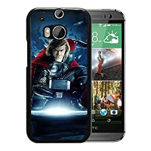 Popular And Unique Custom Designed Case For HTC ONE M8 With Thor 01 Black Phone Case