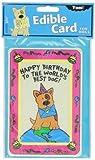 Crunchkins Edible Crunch Card, Birthday, World's Best Dog