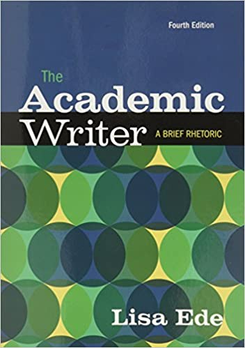com the academic writer a brief guide  com the academic writer a brief guide 9781319037208 lisa ede books