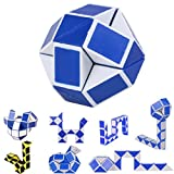 2017 Cool Snake Magic Variety Popular Twist Kids Game Transformable Gift Puzzle ,By Gbell (2PC)