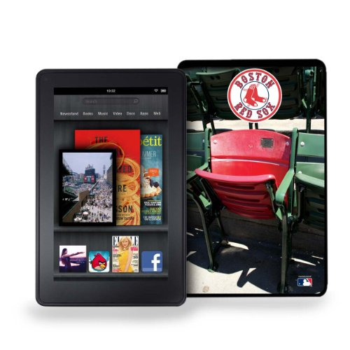 Pangea Brands MLB Boston Red Sox Kindle Fire Stadium Collection Baseball Cover (Boston Red Sox Stadium Seat)