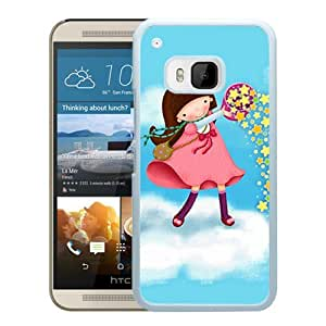 Popular HTC ONE M9 Cover Case ,Cartoon Xperia Z Wallpapers 97 White HTC ONE M9 Phone Case Fashion And Unique Design Cover Case