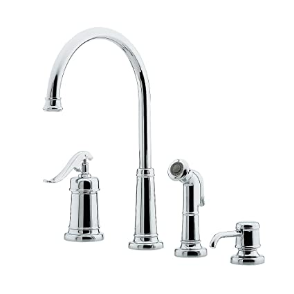 pfister gt26 4ypc gt26 4ypc ashfield single handle kitchen faucet