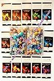 "Lindt LINDOR ""15 Flavors"" 2 Pounds!!! FRESH Truffles-75 PC Gift Bag-5 PC/Flavor(Exact)"