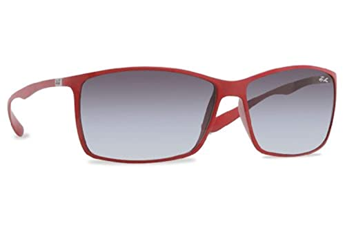 3ca0200686 Ray-Ban RB 4179 6018 8G Red Grey Gradient 62mm Sunglasses  Amazon.ca ...