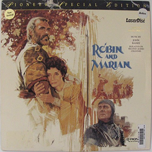 Robin And Marian Laser Disc (Sean Connery)