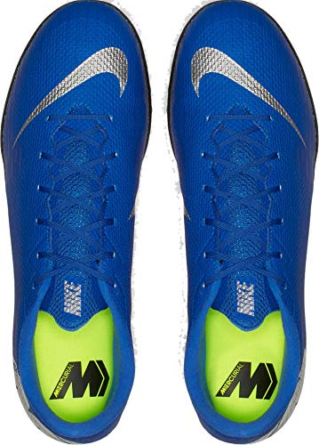 Scarpe Azzurro 5 Uomo Calcetto Academy Tf 400 Nike 44 Ah7384 Mercurial 12 Vapor Da dwUzqO
