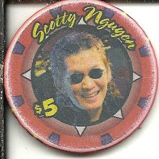 $5 cherokee casino chip oklahoma obsolete scotty nguyen