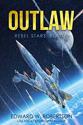 From a USA TODAY bestselling author, Outlaw is the first in a series of piracy, conspiracy, and space's most dangerous janitor._____IN THE YEAR 2010, an alien virus nearly wiped out the human race. A thousand years later, mankind has recovered and ve...