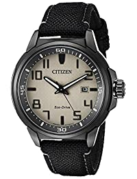 Citizen Men's Ar (Action Required) AW1465-06H Wrist Watches, Grey Dial