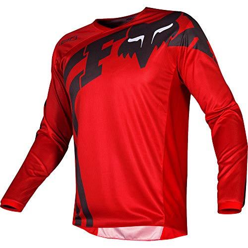 - Fox Racing 2019 180 COTA Jersey-Red-L