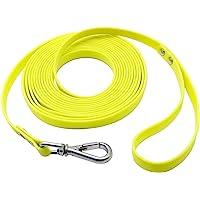 Nimble Waterproof Dog Leash Durable PVC Great for Small Medium Large Dog 5ft 10ft 13ft 16ft Training Reflective Leash (5…