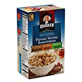 Instant Quaker Oats 3 Flavour Variety Oatmeal, 380g