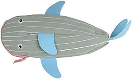 westeng 1 pieza estuche dulce forma de pez Papel de carta estuche bolsa con cremallera para el colegio y Oficina, color a 8.5*19cm: Amazon.es: Oficina y papelería