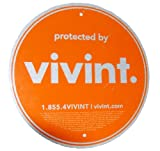 Security Alarm Sign - Protected by vivint