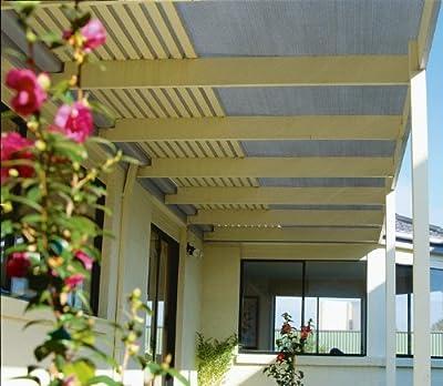 Coolaroo Shade Fabric UV Block 6 Feet by 15 Feet