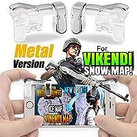 Topsale Pubg R1 L1 Button for Mobile Game Trigger (Black)