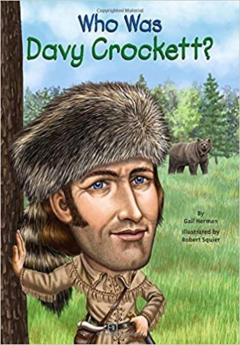 Who Was Davy Crockett? by Gail Herman (2013-10-03)