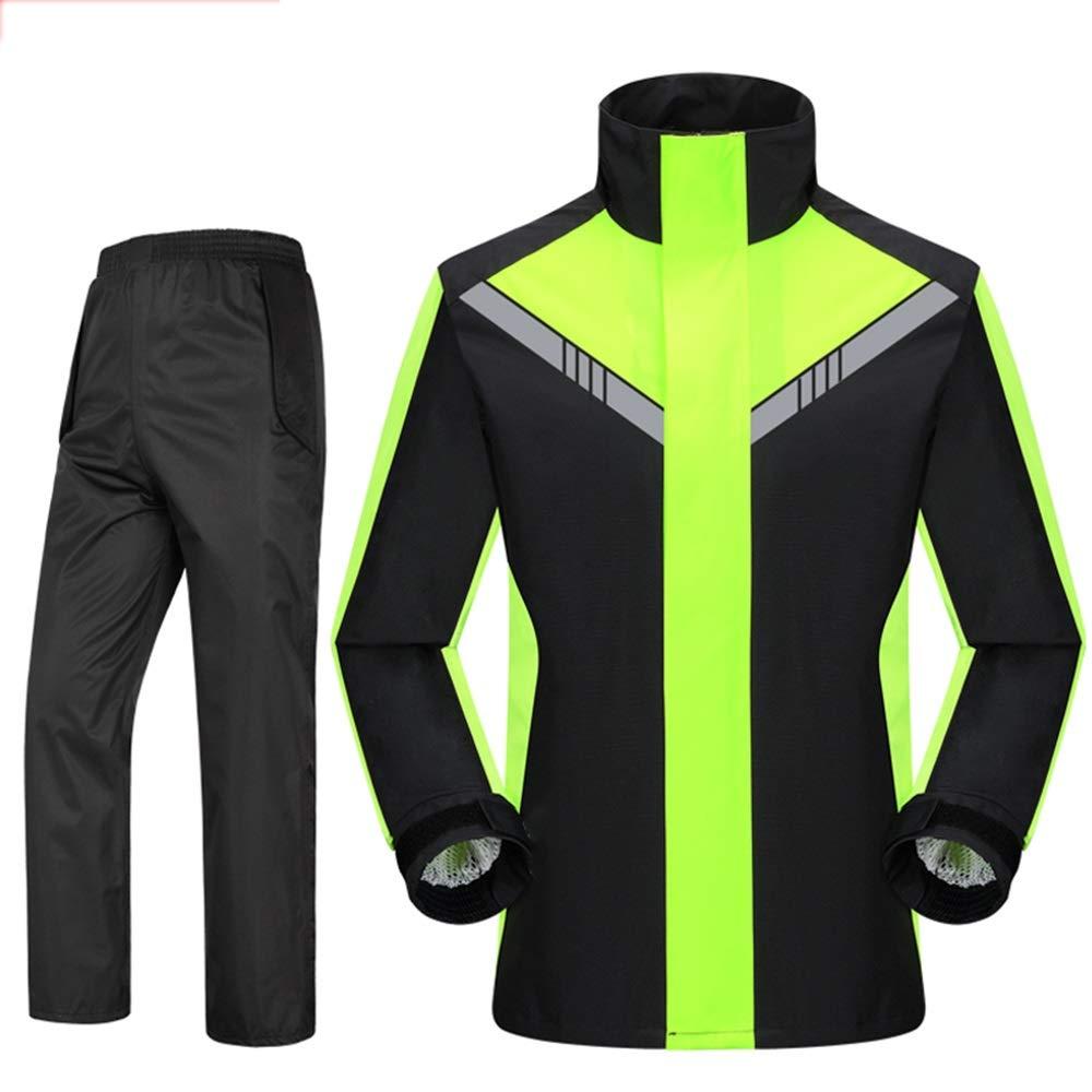 C XL Yuyiyi Pantalon imperméable imperméable Costume Split Mode Adulte Plein air Hommes et Femmes pratiquant Une pêche étanche