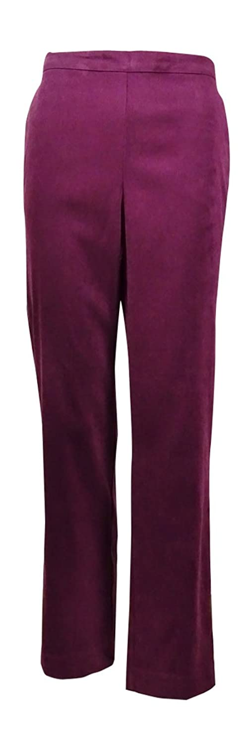 Alfred Dunner Women's Calabria Short Pull On Pants