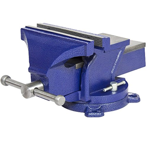 8'' Bench Vise Table Top Clamp W/ Swivel Locking Base by BEC