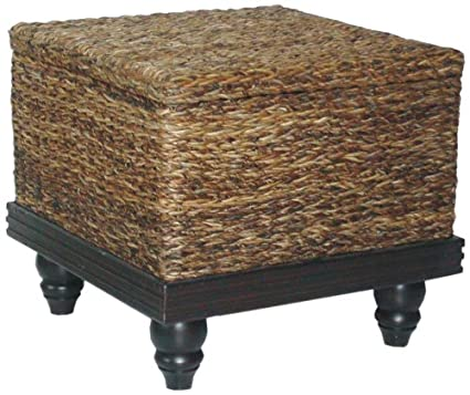 Delicieux Jeffan Tropical Storage End Table