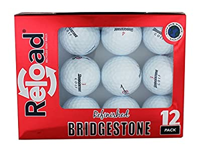 Bridgestone Reload Recycled Golf Balls E6 Refurbished Golf Balls (12 Pack)