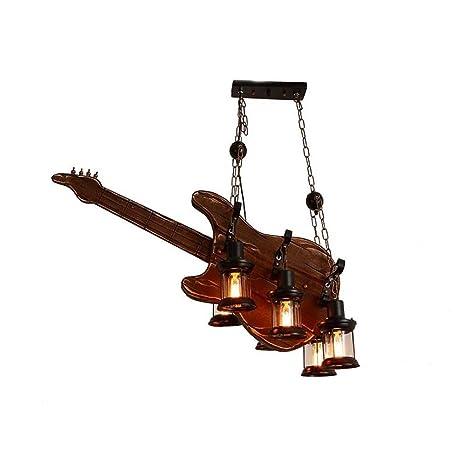 Araña Industrial Madera, Retro Hierro Vintage Guitarra ...