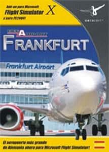 Extension de Flight Simulator Mega Aeropuerto Frankfurt PC FSX y 2004. Español