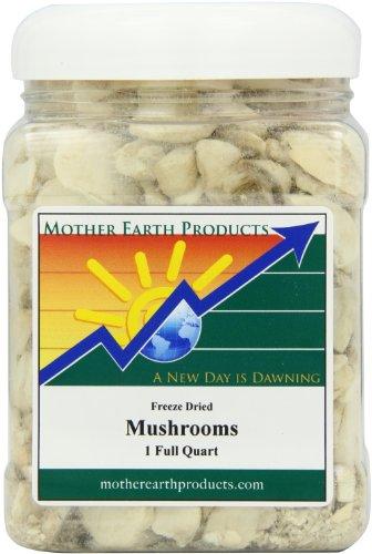 Мать-Земля Продукты Замораживание Сушеные грибы, 1 Полный Quart